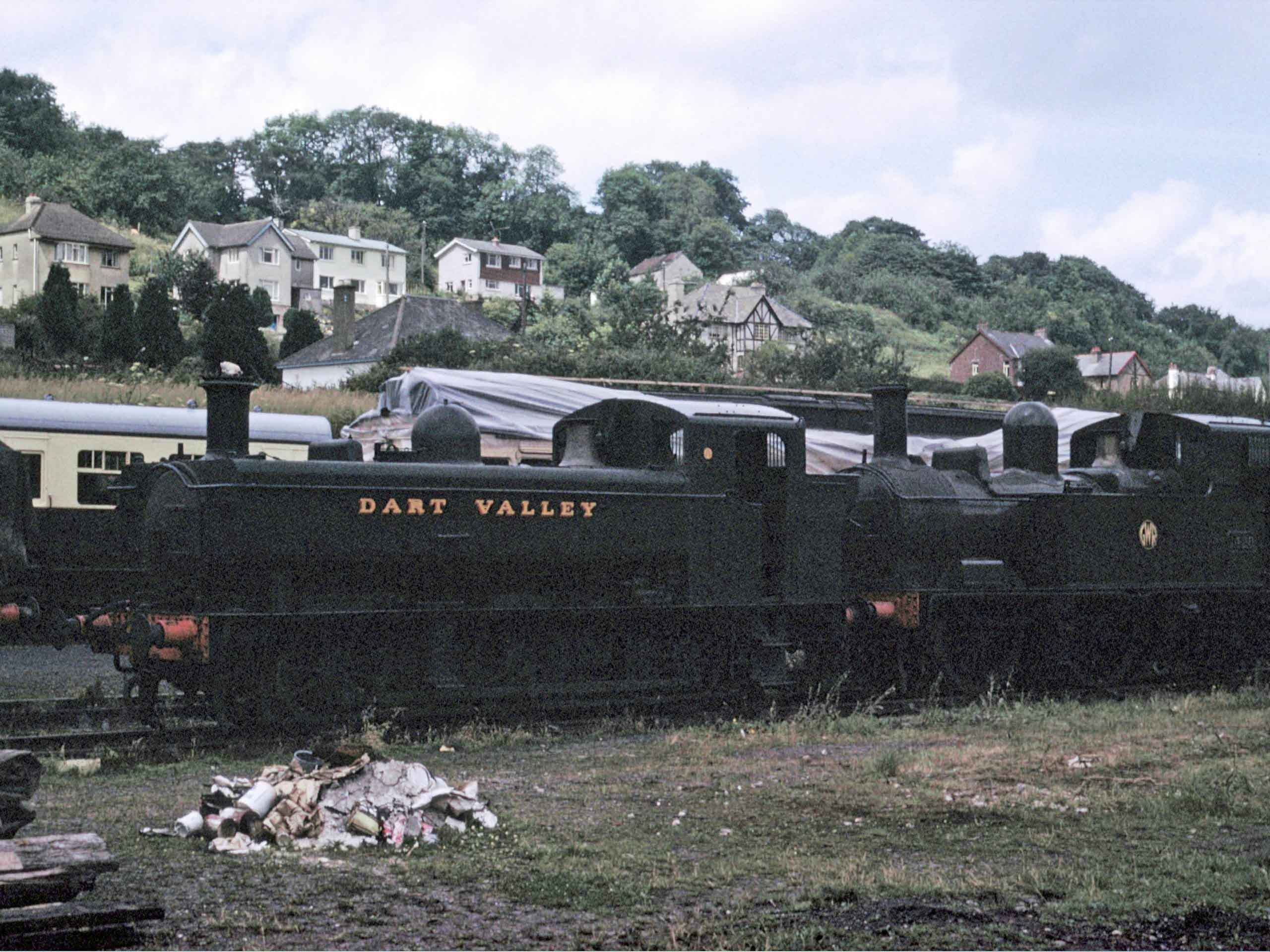 1638 & 1420 at Buckfastleigh-1968.jpg