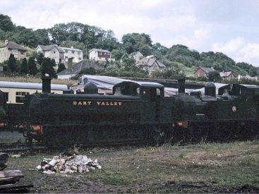 1638 & 1420 at Buckfastleigh-1968.jpg