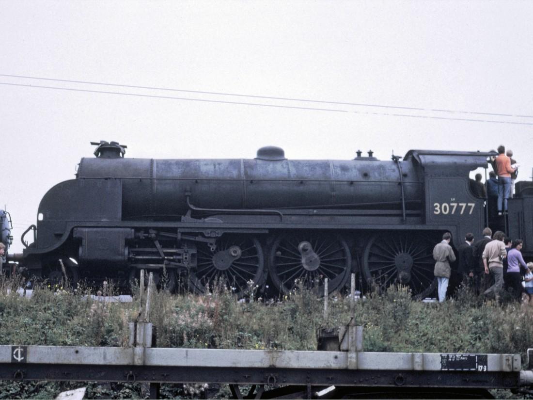 30777 at Tyseley-1971