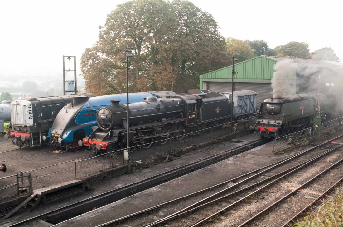 45379 at Ropley with 60019 & 34007-2015.jpg