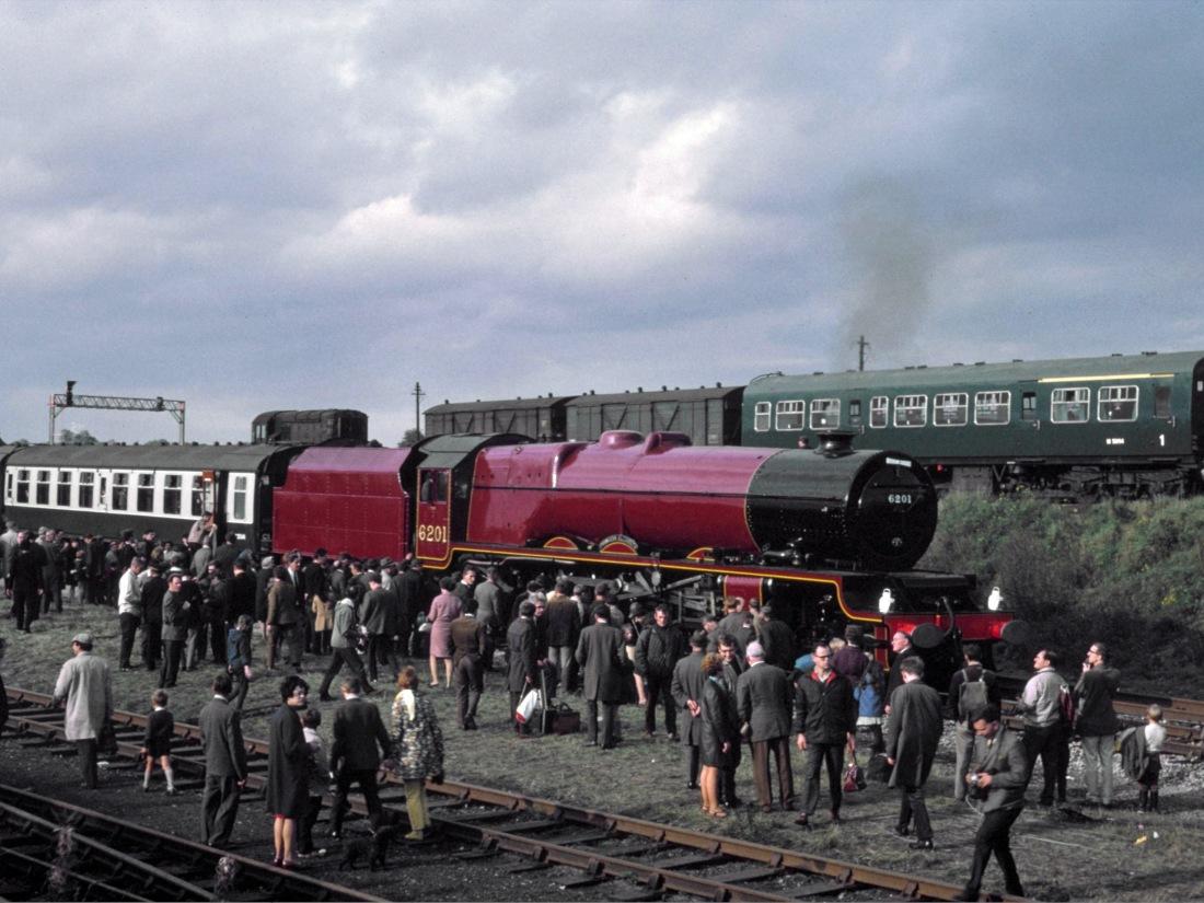 46201 at Tyseley 1969