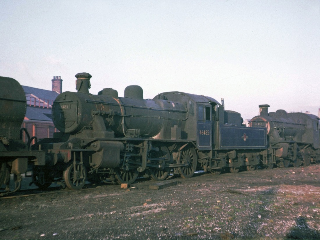 46485 & 46452 at Workington Nov 1965.jpg