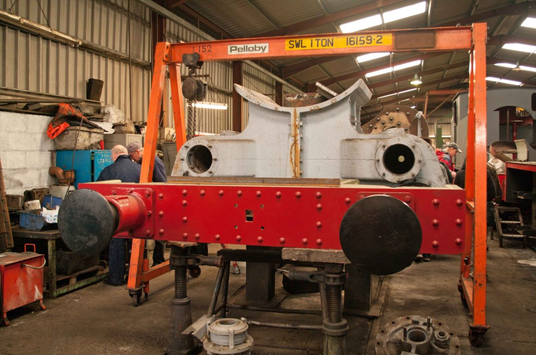 4709 under construction in Llangollen works-2016.jpg