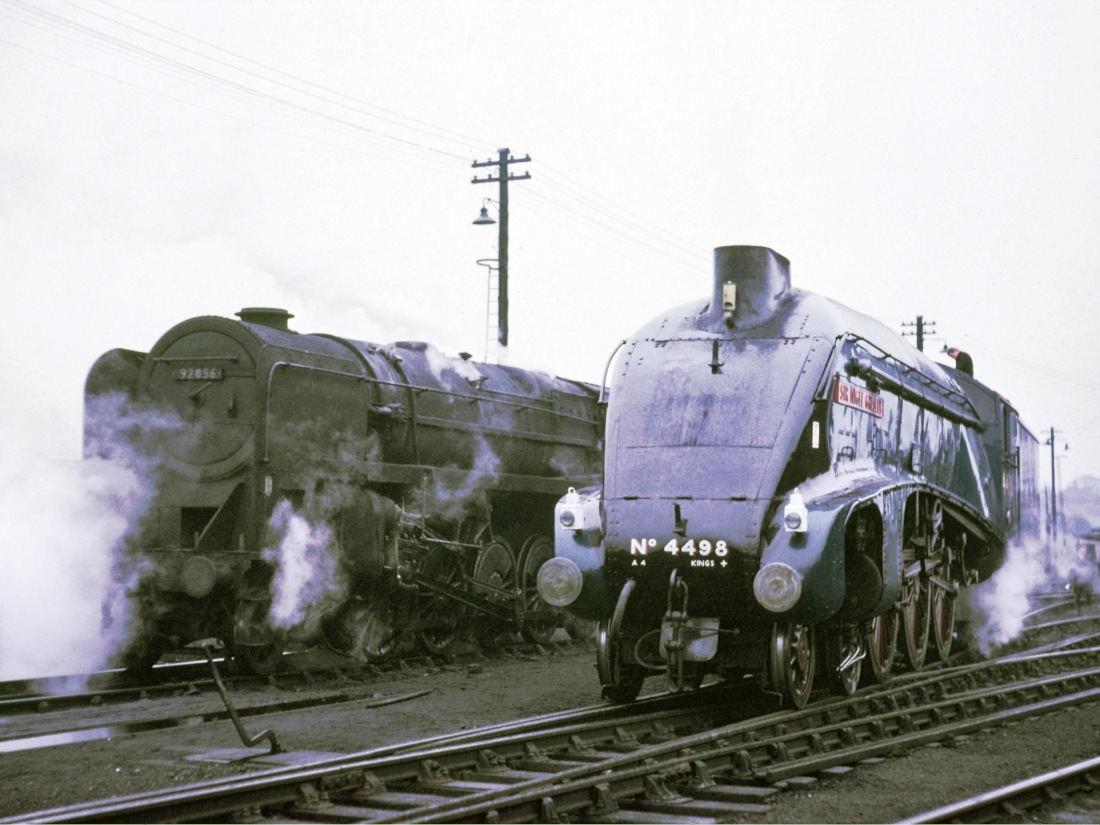 60007 92056 Kingmoor April 1967