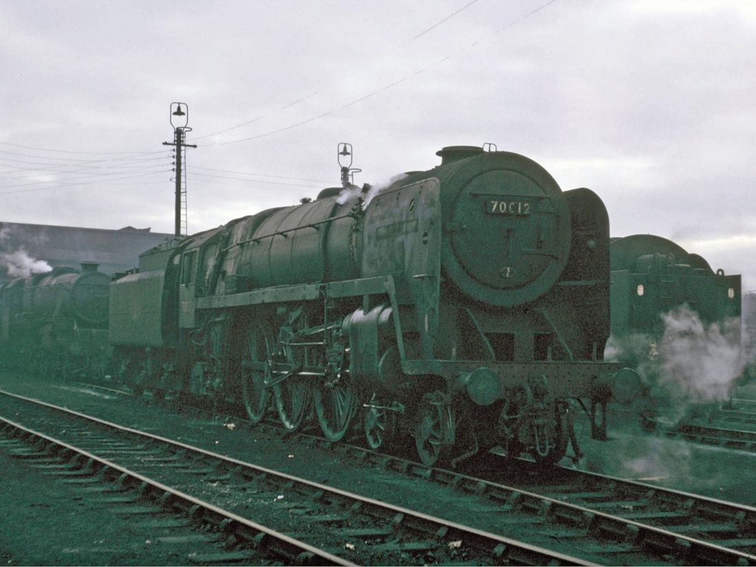70012 Carnforth March 1966