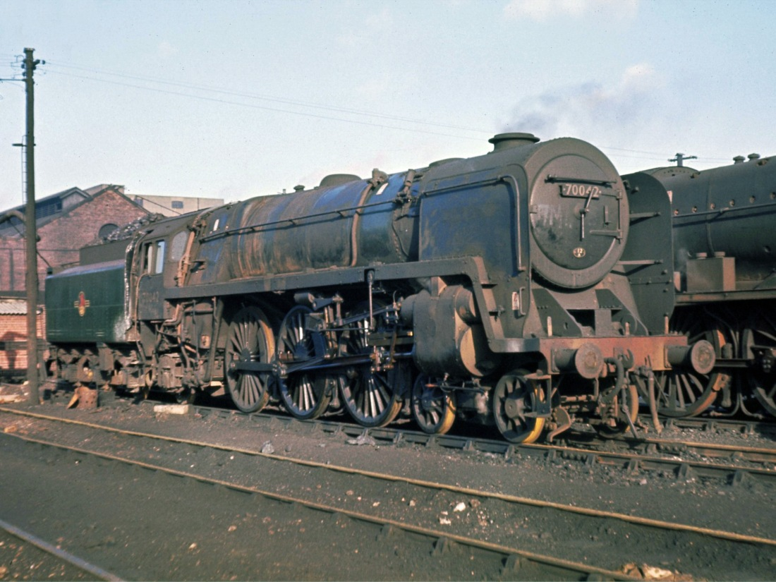 70042 Kingmoor Jan 1966