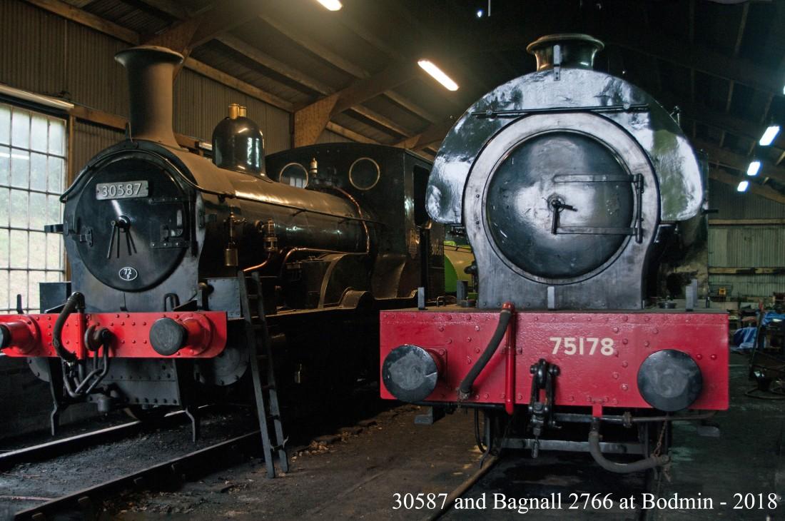 42082-Bodmin & Wenford Railway-Bodmin General-2018-30587 & 75178 Bagnall 2766.jpg