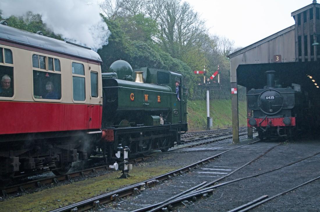 42085-Bodmin & Wenford Railway-Bodmin General-2018-4612 & 6435.jpg