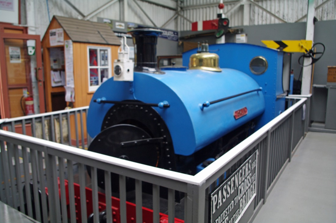 42116-South Devon Railway-Buckfastleigh-2018-Peckett 2031.jpg