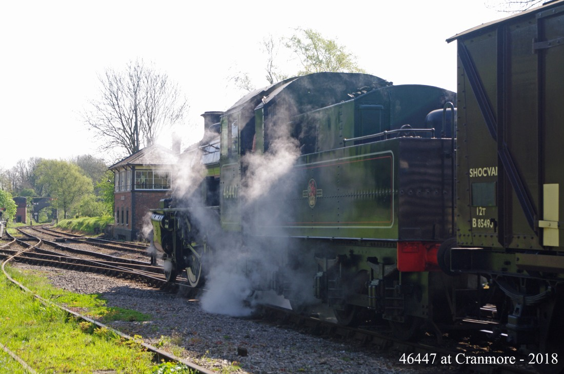 For East Somerset Railway-Cranmore-2018-46447