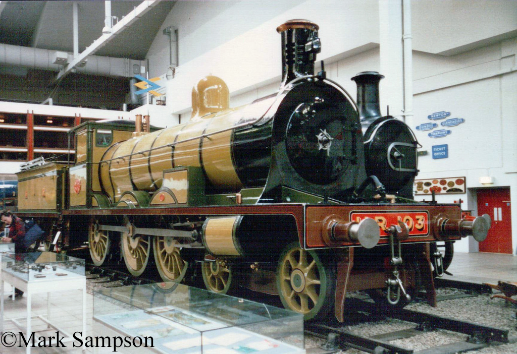 103 in the Glasgow Museum of Transport - October 1988.jpg