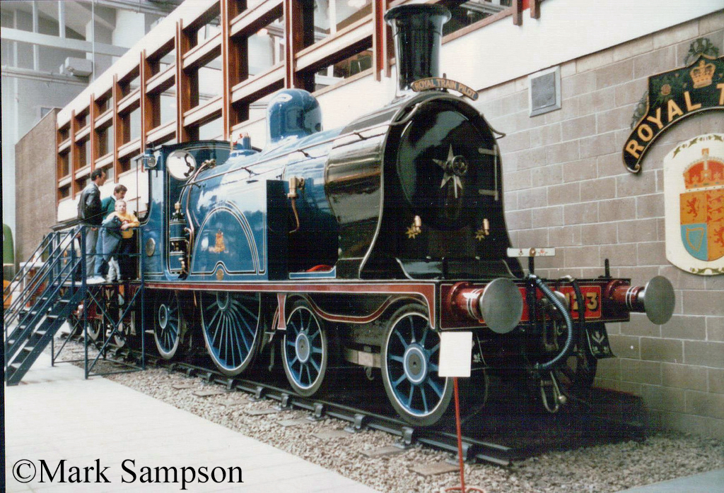 123 in the Glasgow Museum of Transport - October 1988.jpg