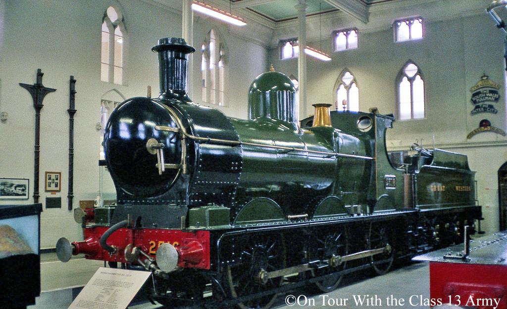 2516 in the Swindon Railway Museum - October 1983.jpg