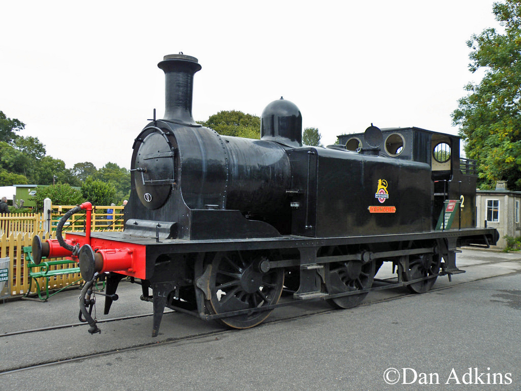 32110 running as IOW No2 Yarmouth at Isle of Wight Steam Railway - September 2013.jpg
