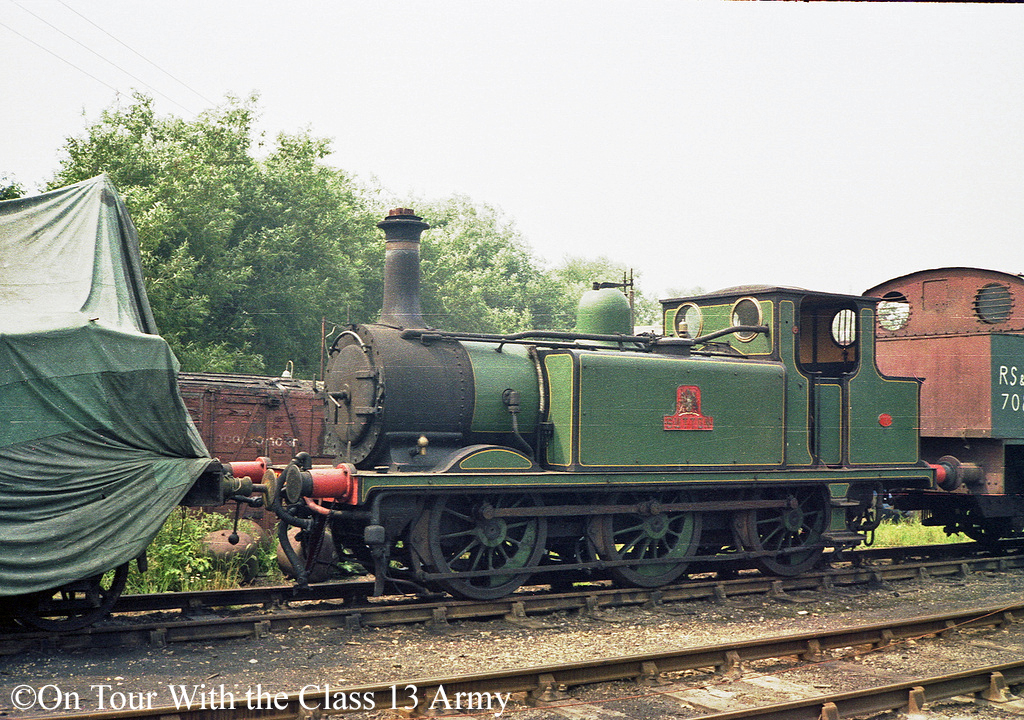 32650 at Rolvenden on the Kent & East Sussex Railway - July 1980.jpg