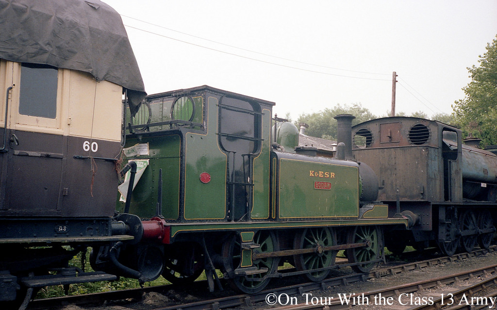 32670 in store at Rolvenden on the Kent & East Sussex Railway - July 1980.jpg