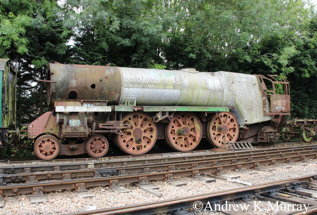 34058 Sir Frederick Pile at Alresford on the Mid Hants Railway - July 2017.jpg