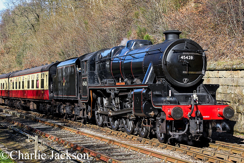 45428 on the North Yorkshire Moors Railway - March 2016.jpg