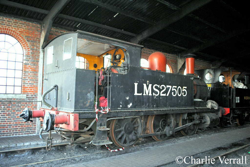 58850 at Sheffield Park on the Bluebell Railway - February 2010.jpg