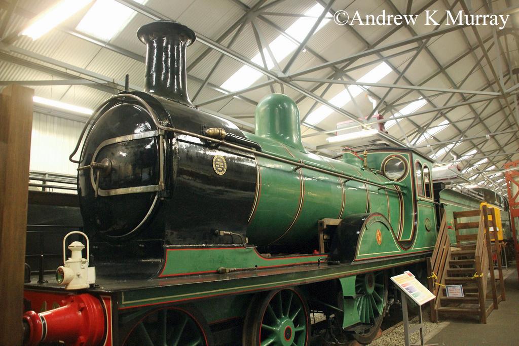 62277 Gordon Highlander in the Riverside Museum in Glasgow - October 2015.jpg