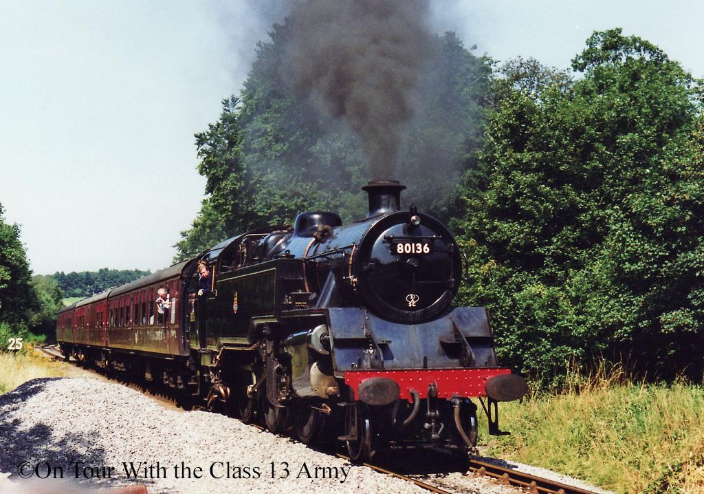 80136 on the Churnet Valley Railway - August 1998.jpg