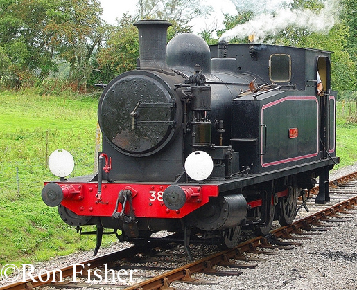 AB 1605 on the Isle of Wight Steam railway Sept 2010.jpg