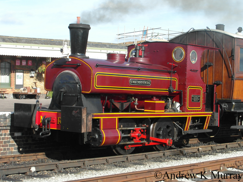 AB 699 at the Buckinghamshire Railway Centre - October 2013