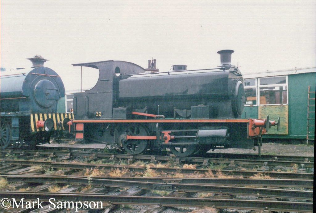 Andrew Barclay 1659 at the Tanfield Railway - August 1989.jpg