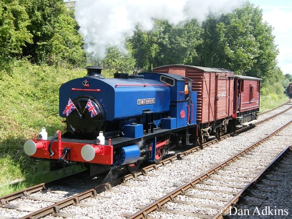 Andrew Barclay 2168 on the Rushden, Higham and Wellingborough Railway.jpg