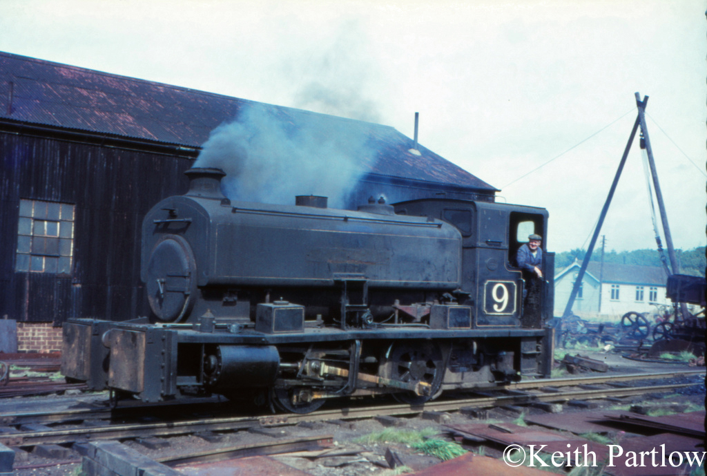 Andrew Barclay 2323 at Irchester Iron Ore Quarry - October 1966.jpg