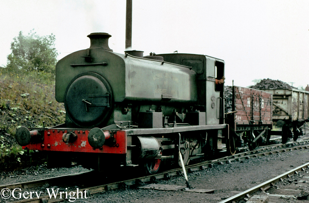 Andrew Barclay 2368 at Dalmellington - June 1978.jpg