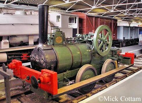 Aveling Porter 807  Buckinghamshire Railway Centre May 2010.jpg