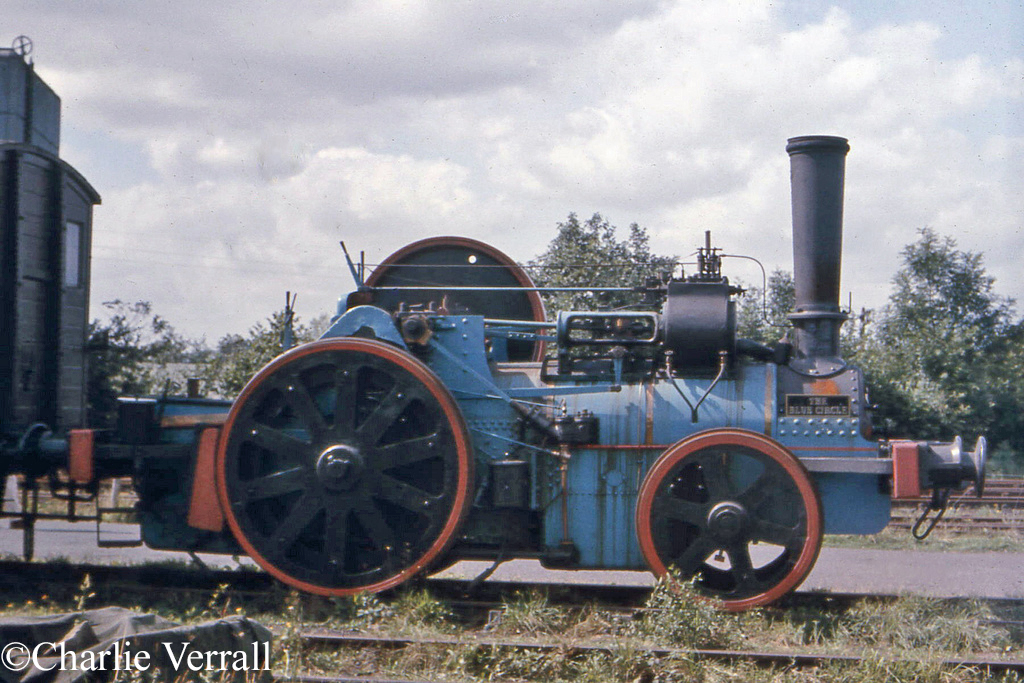 Aveling Porter 9449 at Sheffield Park - August 1965.jpg
