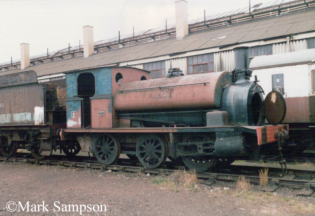 Avonside 1421 at the Didcot Railway Centre - September 1988.jpg