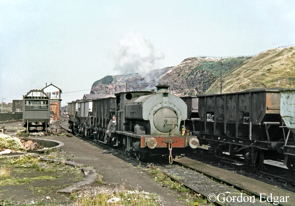 Avonside 1772 at William Pit Whitehaven August 1971