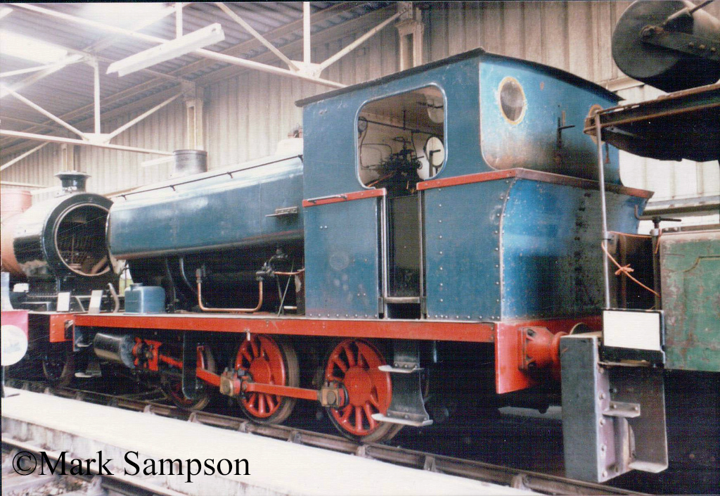 Avonside 1883 at the Dinting Railway Centre - July 1989.jpg