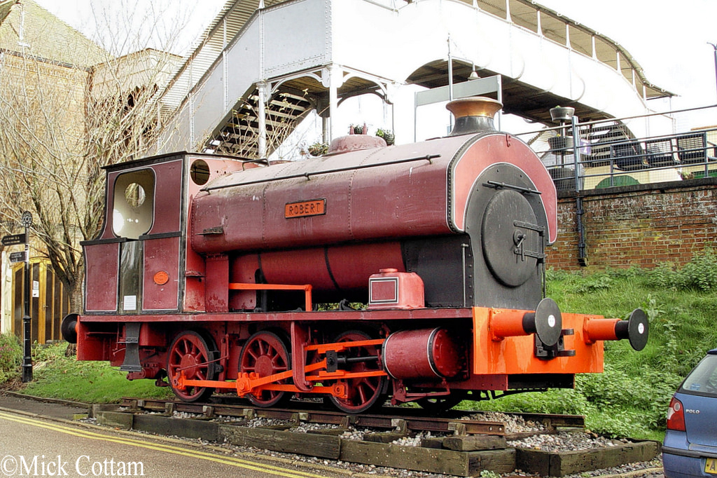 Avonside 2068 At East Anglia Railway Museum Dec 2009.jpg