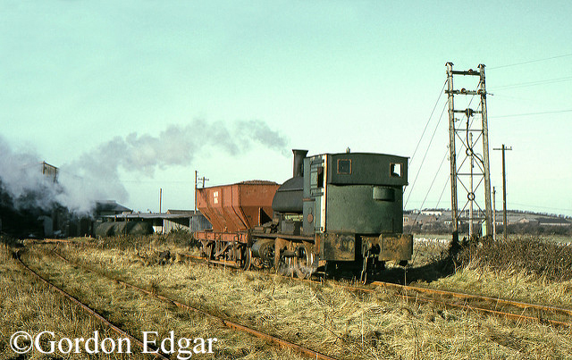 Avonside1563 at Millom Hematite Ore and Iron Co Ltd Hodbarrow Miines near Millom - February 1968.jpg