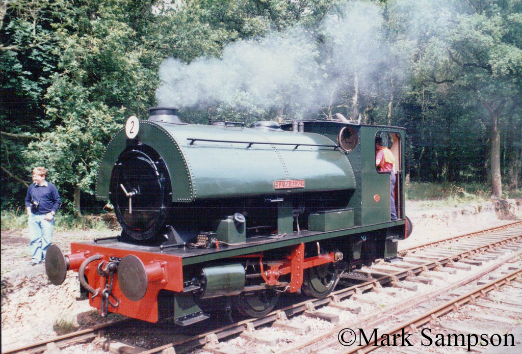 Bagnall 2623 at the Foxfield Railway - July 1989.jpg