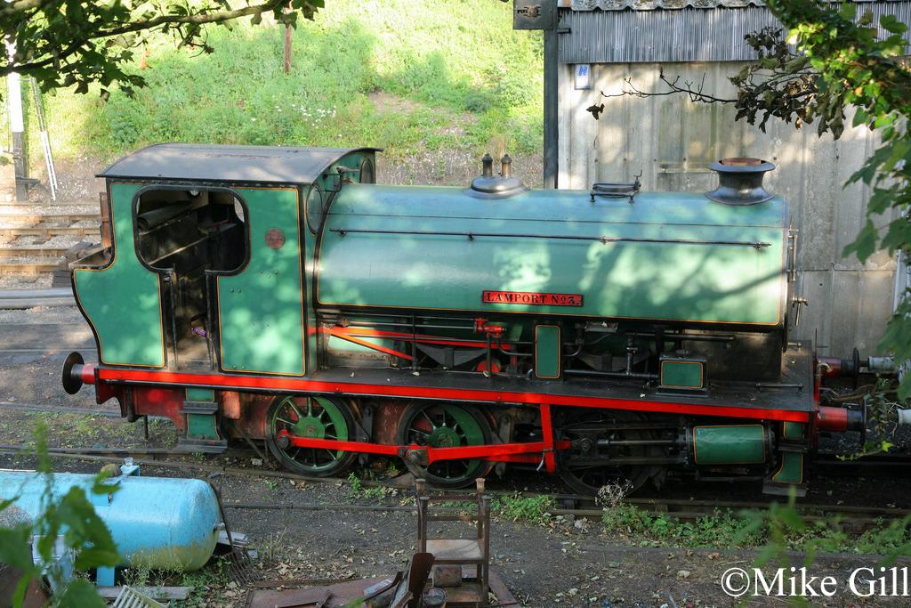 Bagnall 2670 Battlefield Railway Sept 2012.jpg