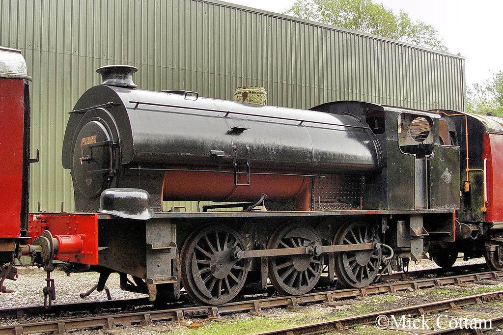 Bagnall 2746  Ecclesbourne Valley Railway  September 2011.jpg