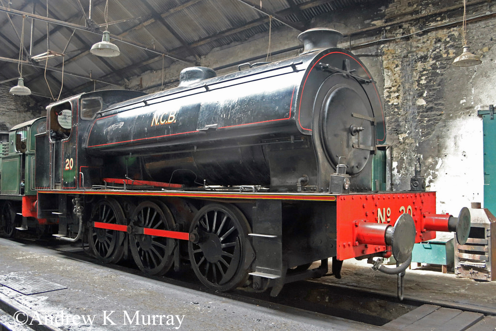 Bagnall 2779 at the Tanfield Railway - August 2018.jpg