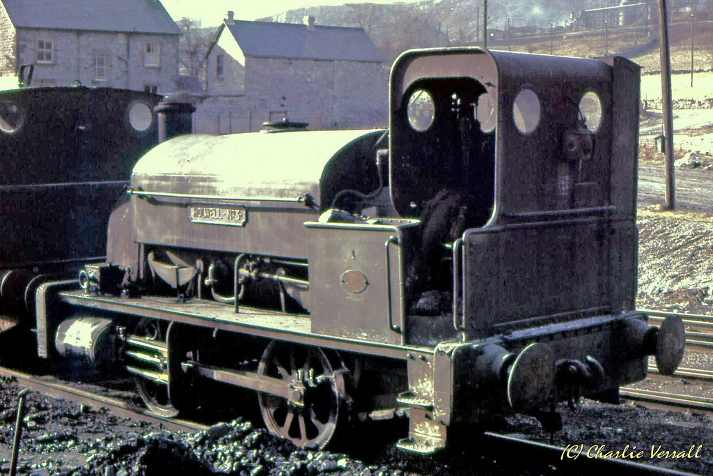 Black Hawthorn 266 at Bourne & Shaw Wirksworth - February 1965.jpg