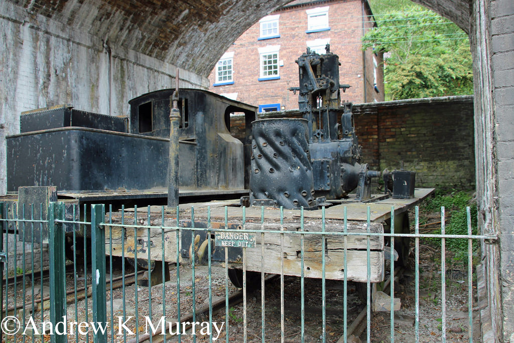 Coalbrookdale 1865 at Coalbrookdale Museum of Iron - Rebuilt S 6185 - July 2017