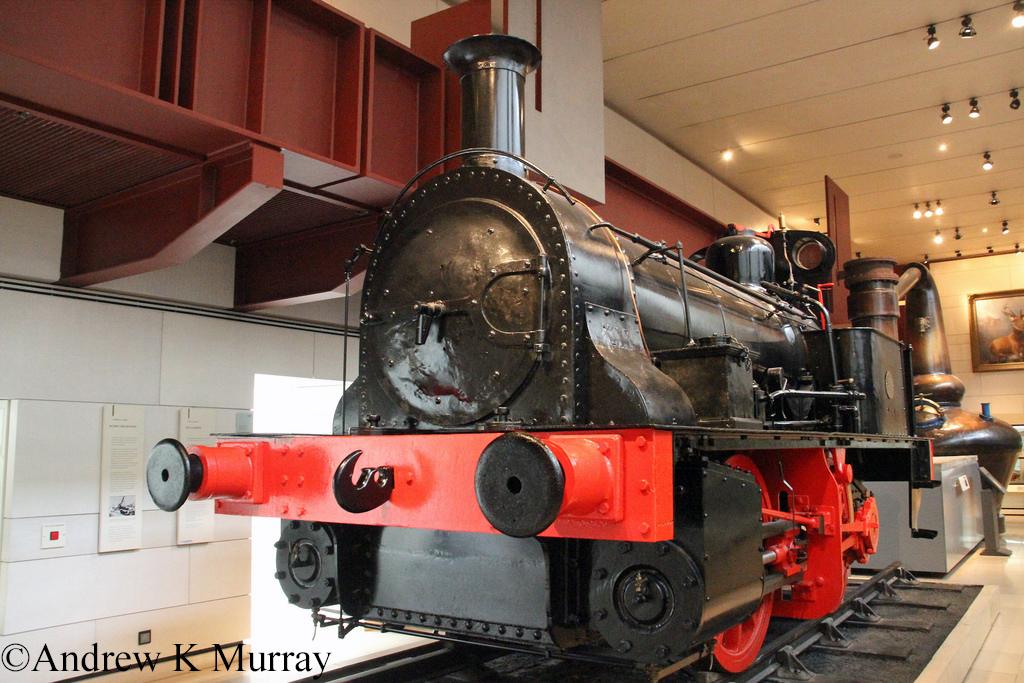 Hawthorn & Co 244 Ellesmere in the National Museum of Scotland at Edinburgh - February 2015.jpg