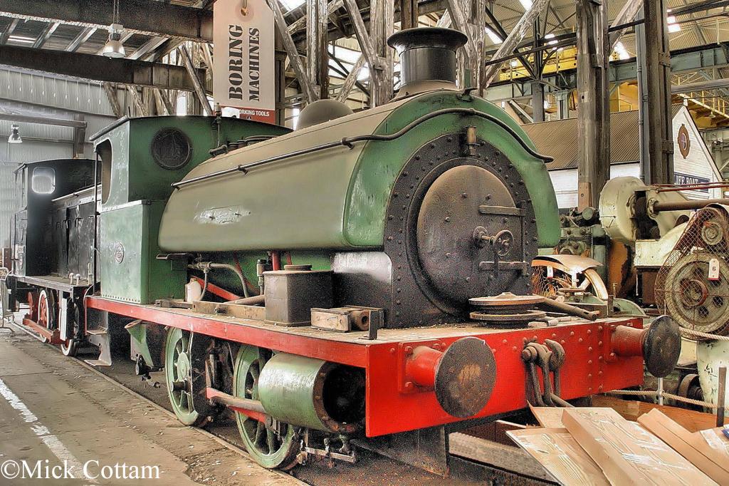 Hawthorn Leslie 2918  Chatham Dockyard Museum September 2010.jpg