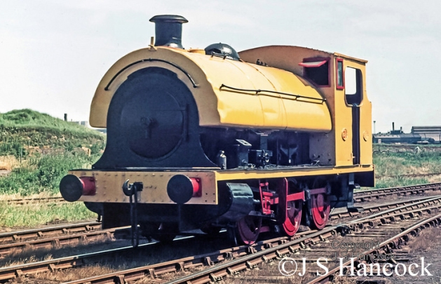 Hawthorn Leslie 3931  at Gretton Brook prior to working the farewell to steam tour around Corby ore mines to Wakerley - June 1973.jpg