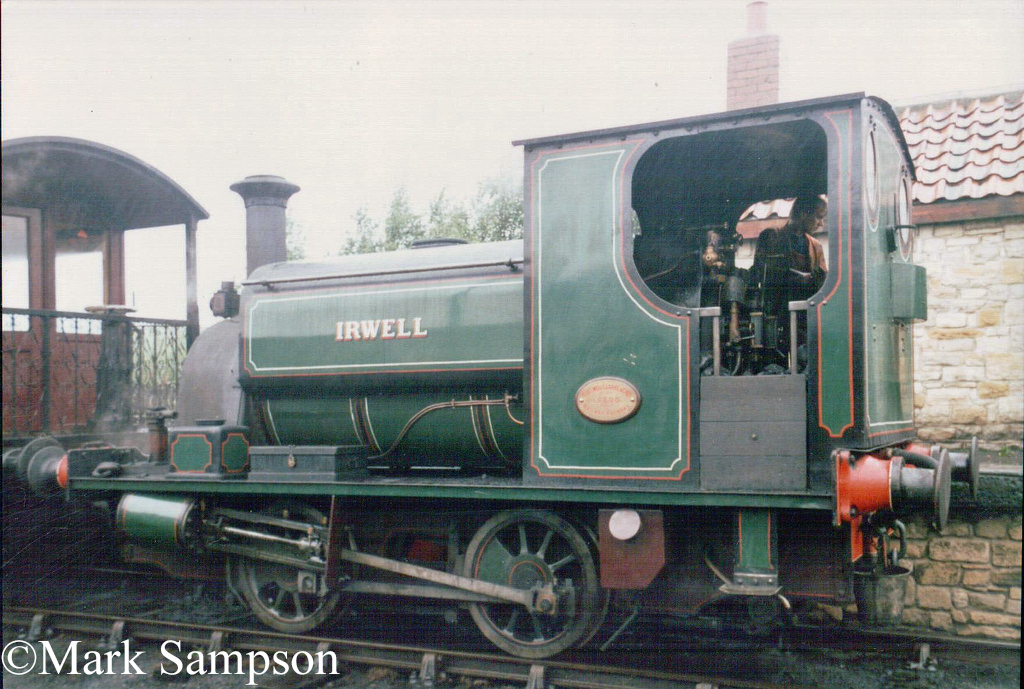 Hudswell Clarke 1672 at the Tanfield Railway - August 1989.jpg