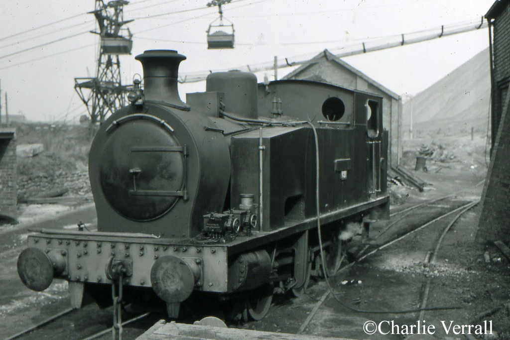 Hudswell Clarke 1731 at NCB Orgreave - September 1966.jpg