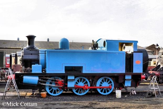 Hudswell Clarke 1800 Nene Valley Railway June 2016.jpg